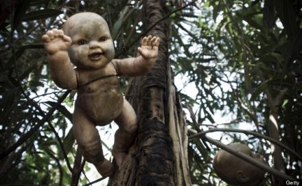 Hátborzongató babák
