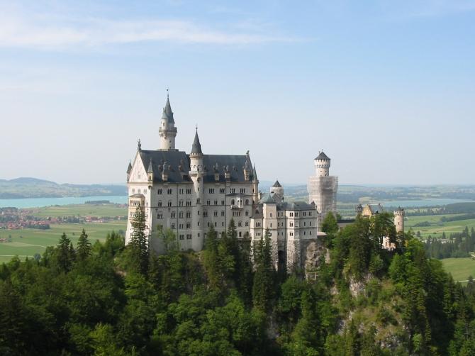 Egy őrült király szeszélye – Neuschwanstein kastély