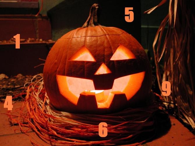Samhain, Halloween és Mindenszentek - Számok és szimbólumok